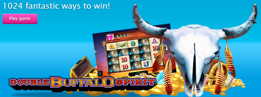 Double Buffalo Spirit Slot Machine - Try for Free Online