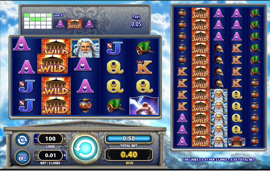 Zeus 1000 Slots- Free Instant Play Game - Desktop / IOS / Android