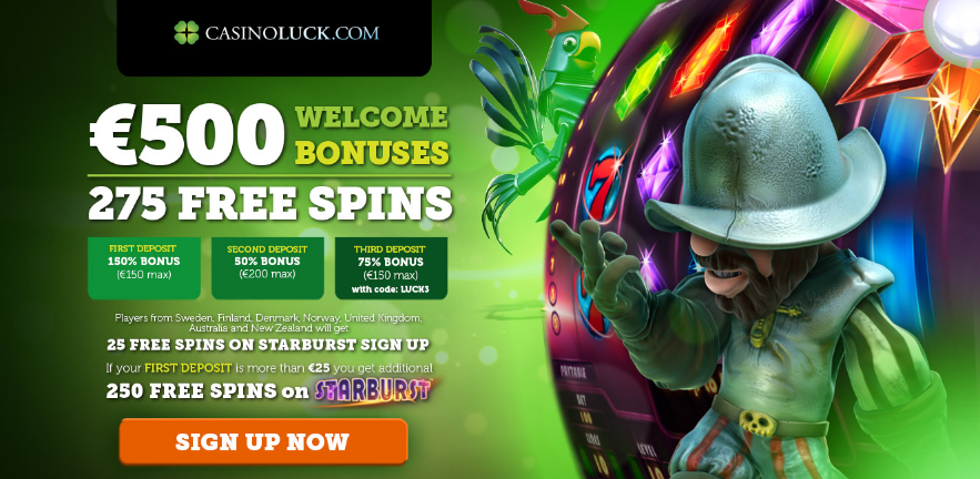 Casino Luck New Bonus