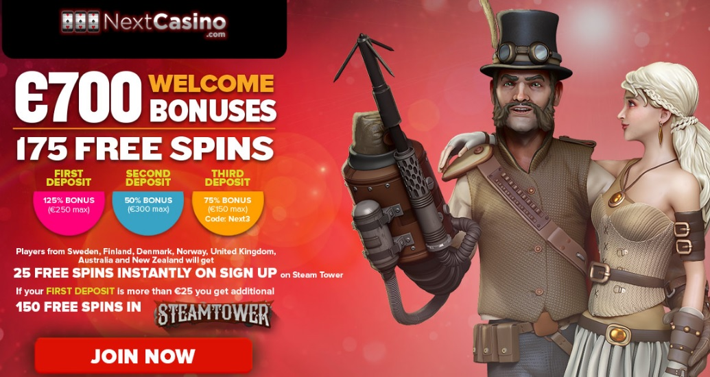 NextCasino New Offer