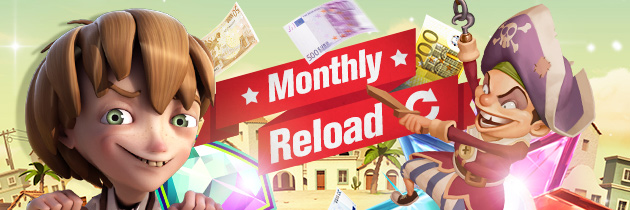 Redbet Monthly Reload Bonus
