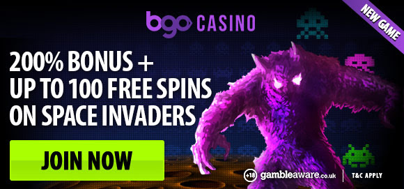 BGO Space Invaders Promo