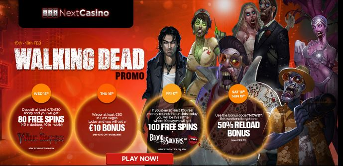 Next Casino Promotion