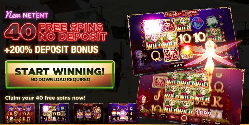 SlotJoint Casino - 40 No Deposit Spins - 200% Bonus ...