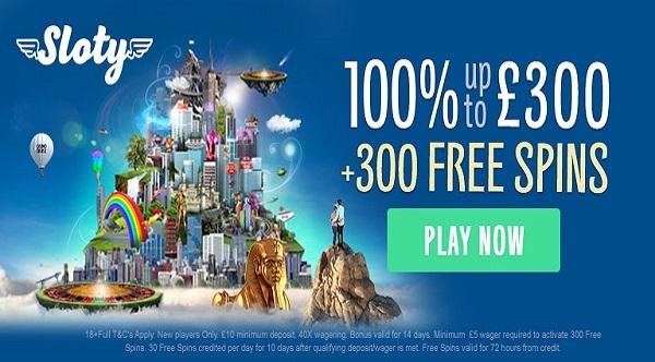 Free casino slots 300