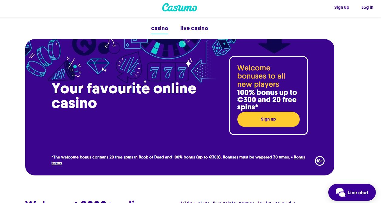 Casumo Casino Reviews