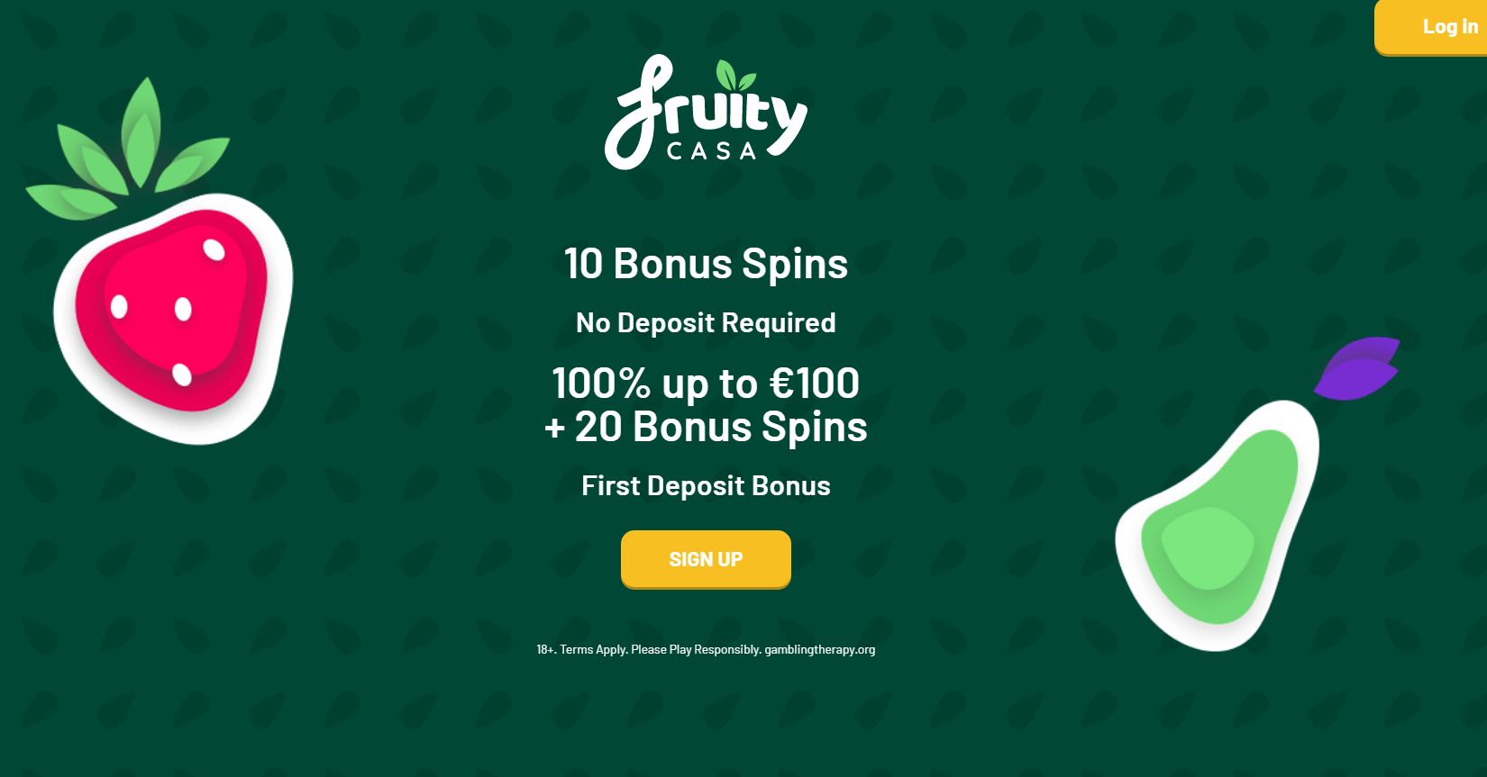 Fruity Casa Casino Bonus Codes 2021